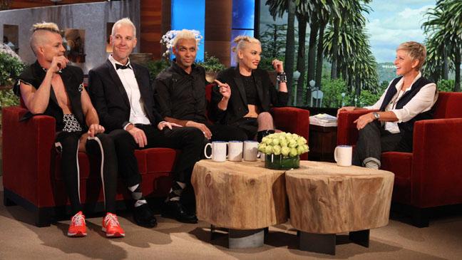 No Doubt Ellen DeGeneres Show - H 2012