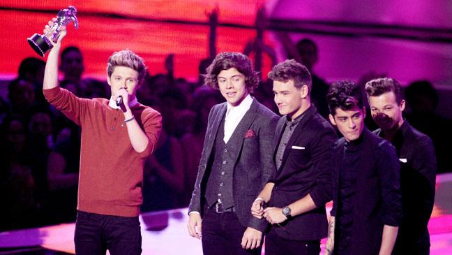 One Direction VMA Win - H 2012