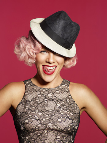 Pink publicity 2012 red P