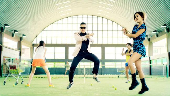 Psy Music Video Screengrab - H 2012