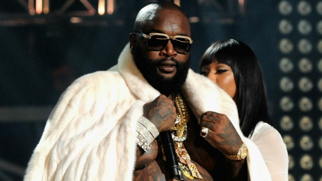 Rick Ross BET Hip-Hop Awards - H 2012