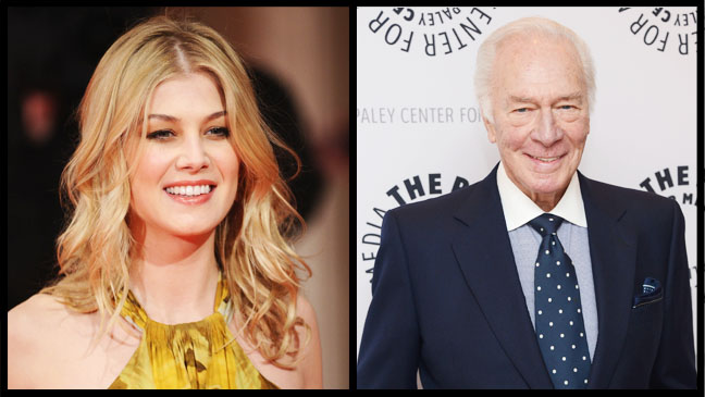 Rosamund Pike Christopher Plummer Split - H 2012
