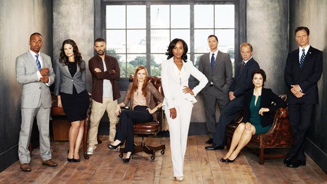 Scandal Season 2 Cast - H 2012
