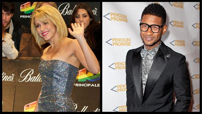 Shakira Usher Split - H 2012