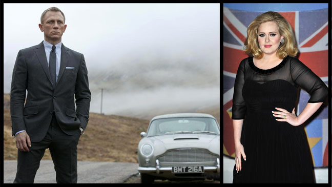 Skyfall James Bond Adele - H 2012