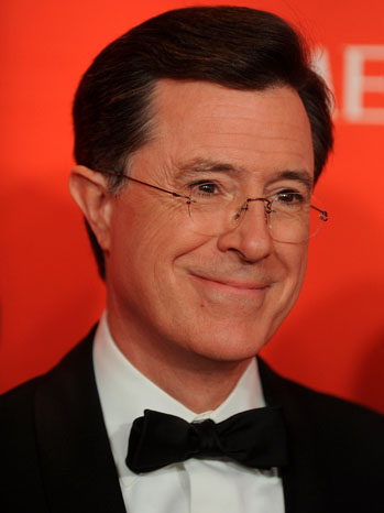Stephen Colbert Time 100 Gala - P 2012