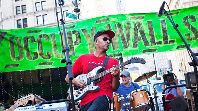 Tom Morello Occupy Wallstreet Performance - H 2012
