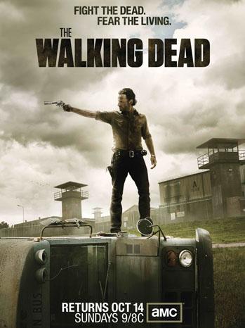 Walking Dead Season 3 Key Art Poster - P 2012