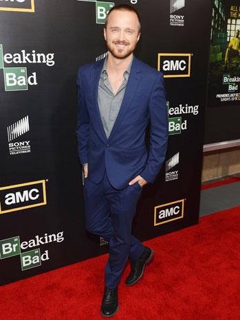 Aaron Paul Breaking Bad Premiere Arrivals - P 2012