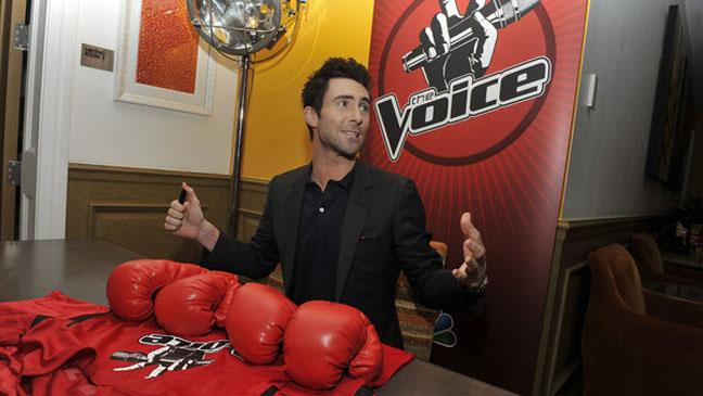 Adam Levine The Voice Press Event - H 2012