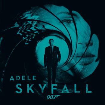 Adele Skyfall Single Album Art