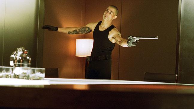 Alex Cross Fox with Gun - H 2012