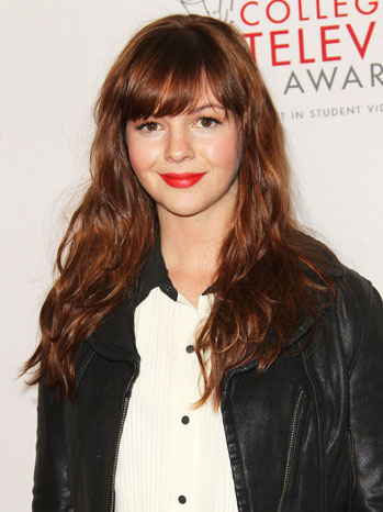 Amber Tamblyn College Television Awards - P 2012