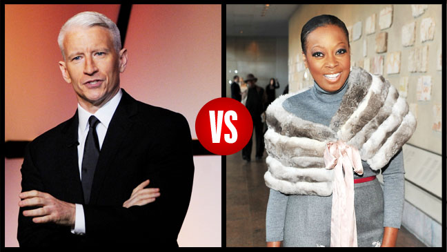 Anderson Cooper Vs Star Jones Split - H 2012