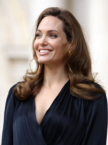 Angelina Jolie Blood Honey Headshot - P 2012