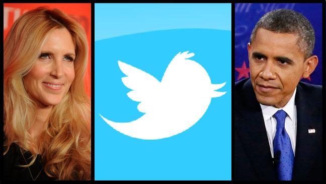 Ann Coulter Twitter Barack Obama - H 2012