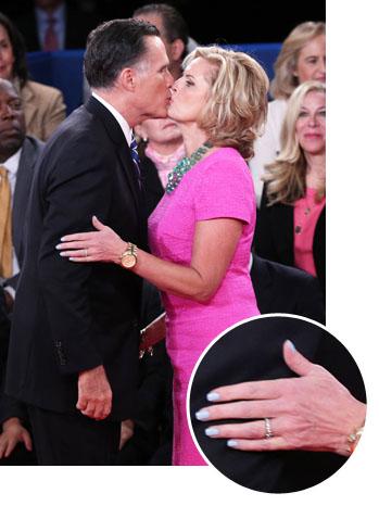 Ann Romney Debate 2 Nail Polish Inset - P 2012