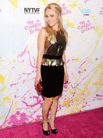 AnnaSophia Robb Carrie Diaries Premiere - P 2012