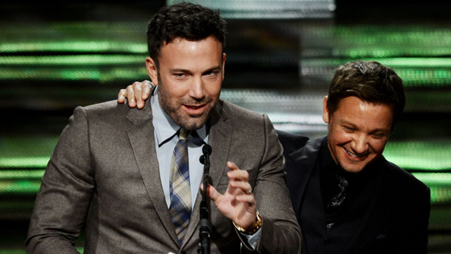 Ben Affleck Jeremy Renner Artios Awards - H 2012