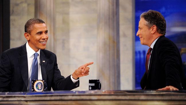 Barack Obama Daily Show - H 2012