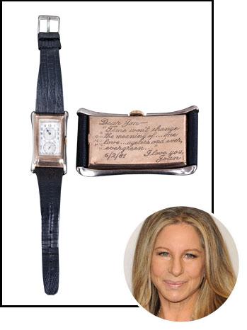 Rolex Watch Barbra Streisand Inset - P 2012