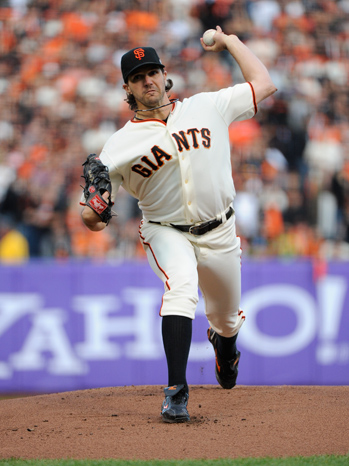 Barry Zito - World Series Game 1 - P 2012