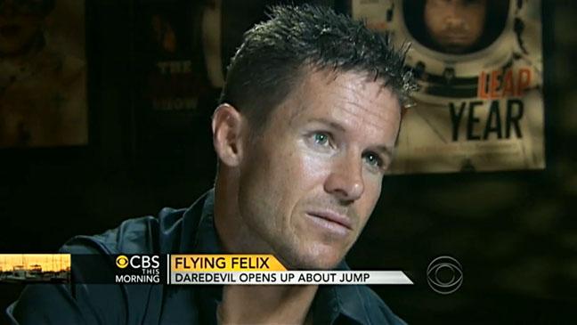 Felix Baumgartner CBS This Morning - H 2012
