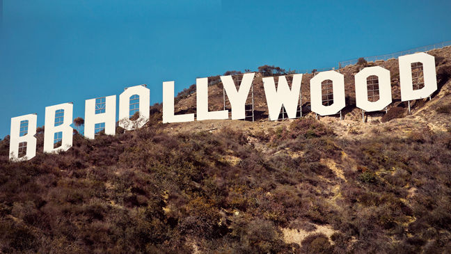 BB Hollywood sign L
