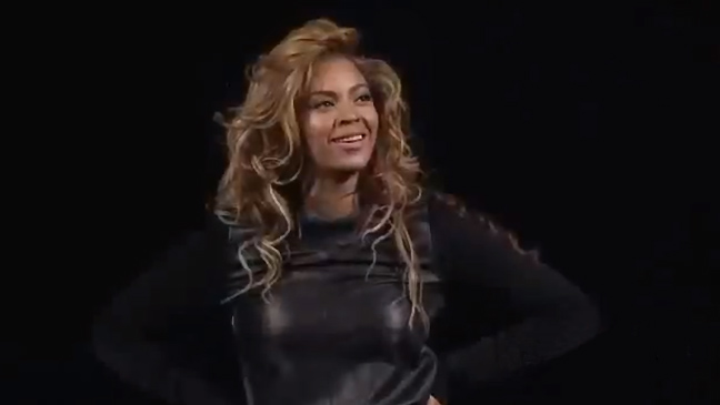 Beyonce Barclays screengrab L