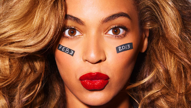 Beyonce Football PR Image - H 2012