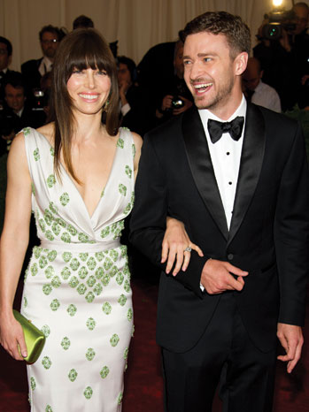 WEDDINGS: Justin Timberlake & Jessical Biel