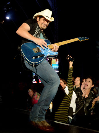 Brad Paisley Hollywood Bowl - P 2012