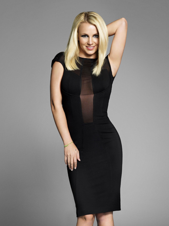 X Factor Britney Spears PR dress P 2012