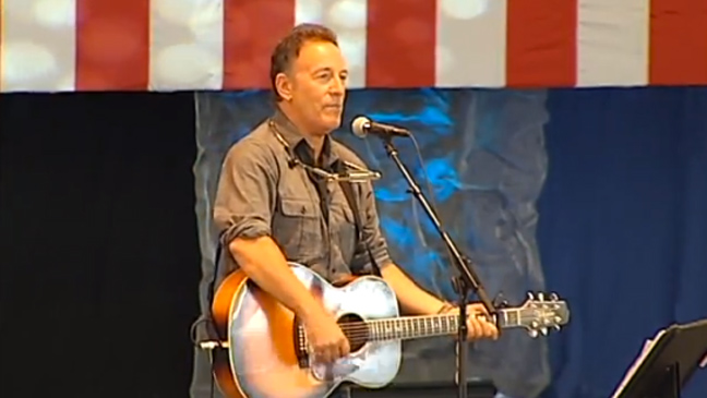 Bruce Springsteen - Obama Rally in Virginia - H 2012