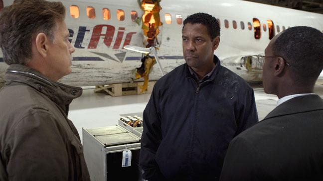 Bruce Greenwood Denzel Washington Don Cheadle Flight - H 2012