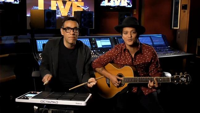 Bruno Mars SNL Promo - H 2012