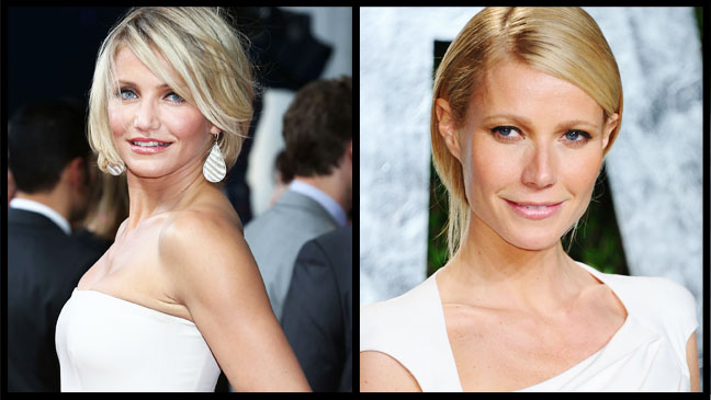 Cameron Diaz Gwyneth Paltrow Split - H 2012