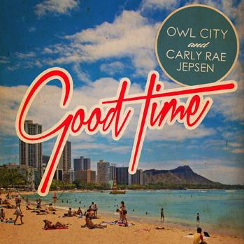 Carly Rae Jepsen Owl City Good Time CD art P