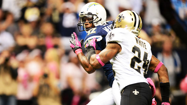 San Diego Chargers New Orleans Saints 10/7 - H 2012