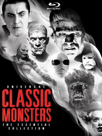 Classic Monsters DVD Cover - P 2012
