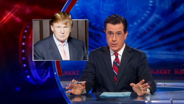 The Colbert Report Donald Trump Announcement - H 2012