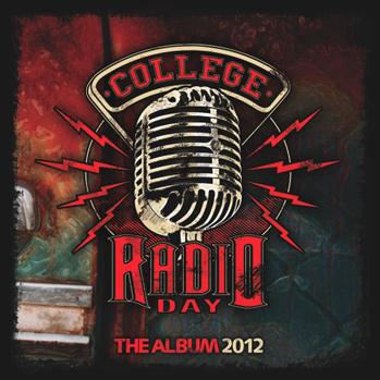 College Radio Day CD cover art P