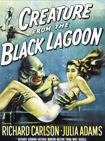 The Creature From the Black Lagoon Poster - P 2012