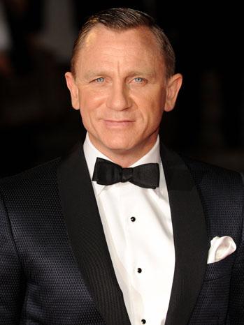 Daniel Craig SkyFall Premiere London - P 2012