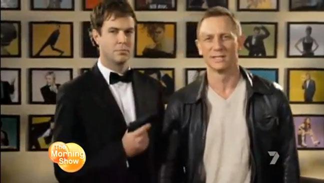 Daniel Craig SNL Promo - H 2012