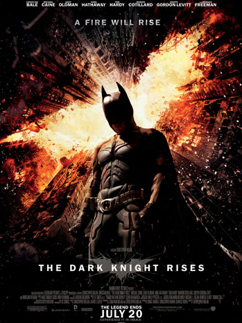 The Dark Knight Rises One Sheet - P 2012