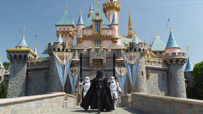 Darth Vader at Disneyland - H 2012