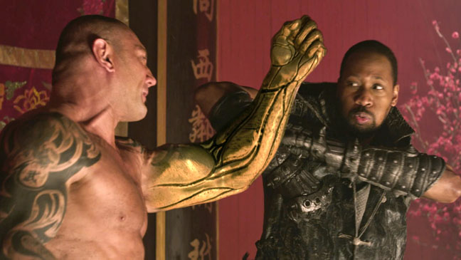 David Bautista RZA The Man With The Iron Fists - H 2012
