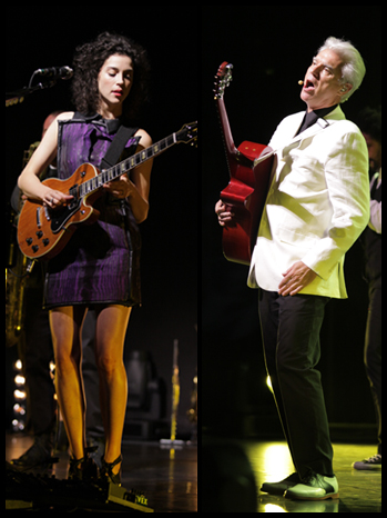 St. Vincent David Byrne Split Live P
