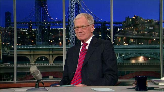 David Letterman Empty Studio - H 2012